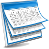 Picture of generic calendar